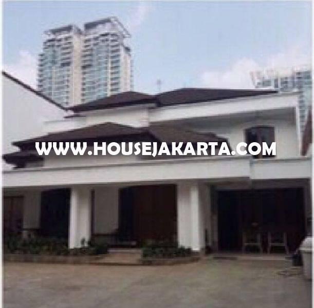 HS1029 Rumah Jalan PRAPANCA dekat Brawijaya Kebayoran Baru Dijual Murah 32M ada Pool