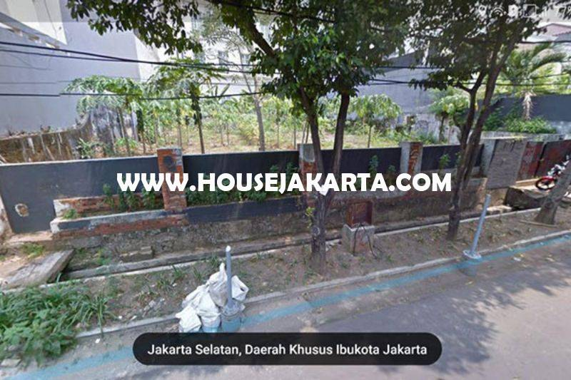 LS1037 Tanah Jalan Tulodong Senopati kebayoran Baru Depan Taman Kotak Dijual Murah
