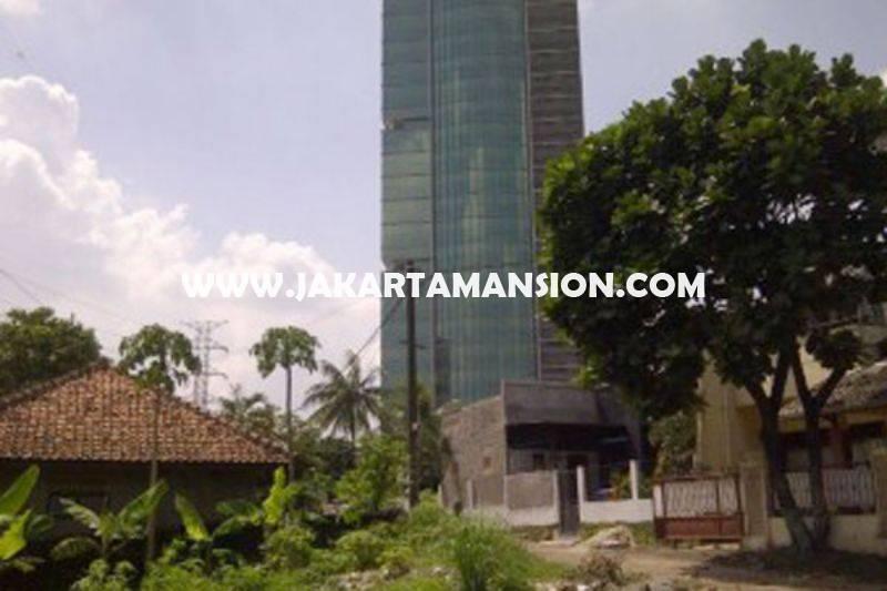 LS1040 Tanah Luas 5.300m Jalan Kyai Madja Kebayoran Baru dekat Pakubuwono Dijual Bisa dibangun Gedung