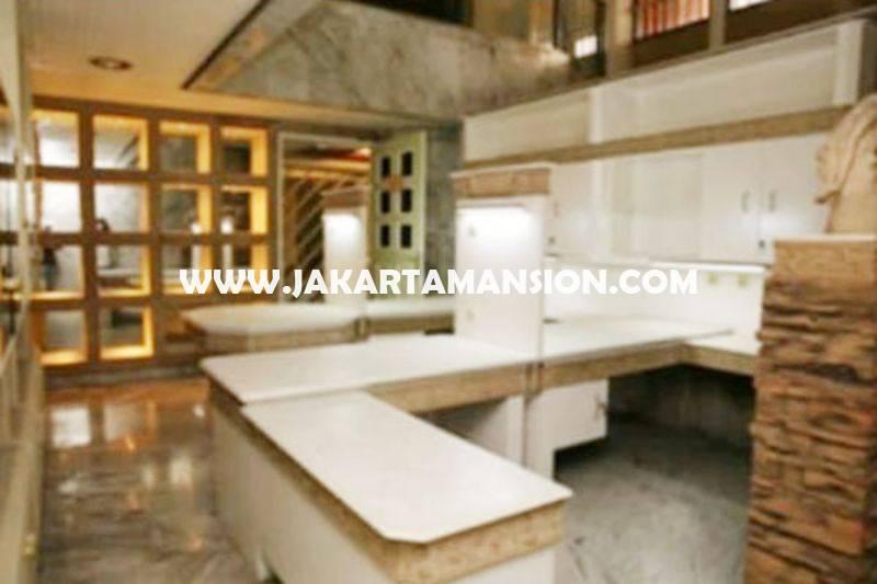 HS1052 Rumah jalan Sisingamangaraja Kebayoran Baru bisa komersial kantor Tanah kotak Dijual Murah