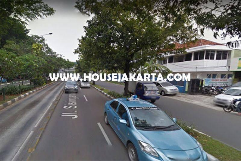 HS1053 Rumah jalan Sisingamangaraja Kebayoran Baru bisa komersial kantor Tanah kotak Dijual Murah