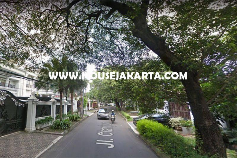 HS1055 Rumah Bagus Jalan Cianjur Menteng Dijual Murah hitung Tanah Kotak Golongan C