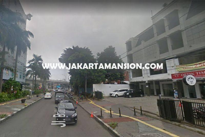 CS1056 Rumah bisa komersial 3 Lantai jalan Bulungan Raya Blok M kebayoran baru Dijual Murah 45 juta/m