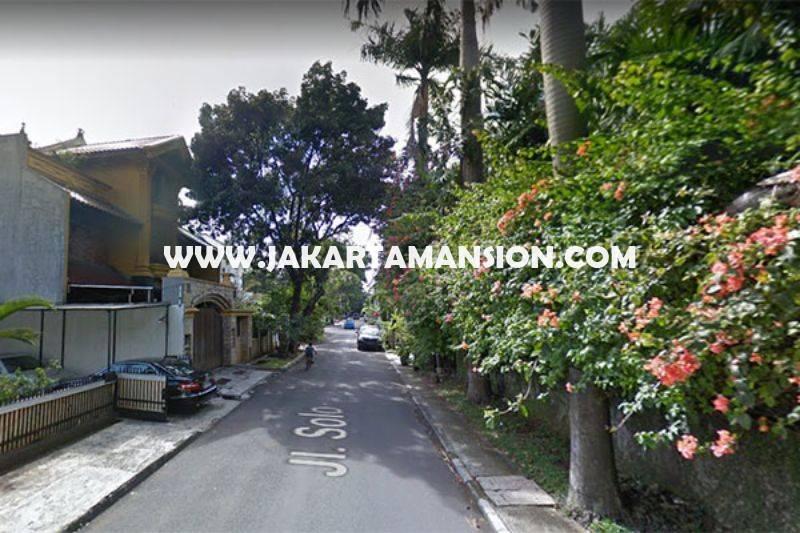 HS1061 Rumah Jalan Solo Menteng Tanah Kotak Golongan C Dijual Murah Daerah Tenang