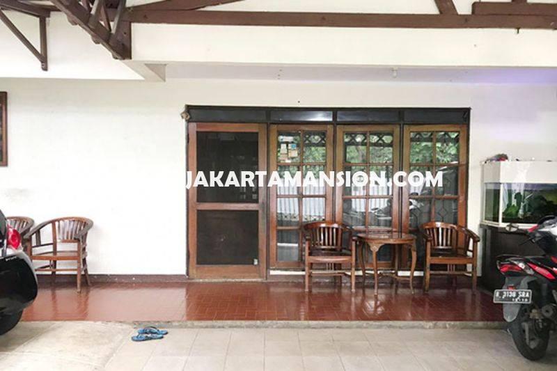 HS1101 Rumah jalan Rajasa Senopati Kebayoran Baru Dijual Murah Tanah Kotak