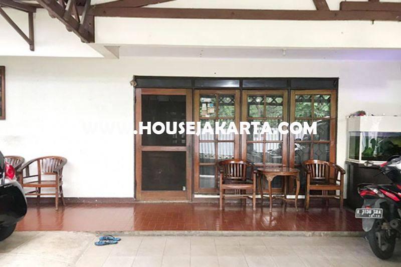 HS1102 Rumah jalan Rajasa Senopati Kebayoran Baru Dijual Murah Tanah Kotak