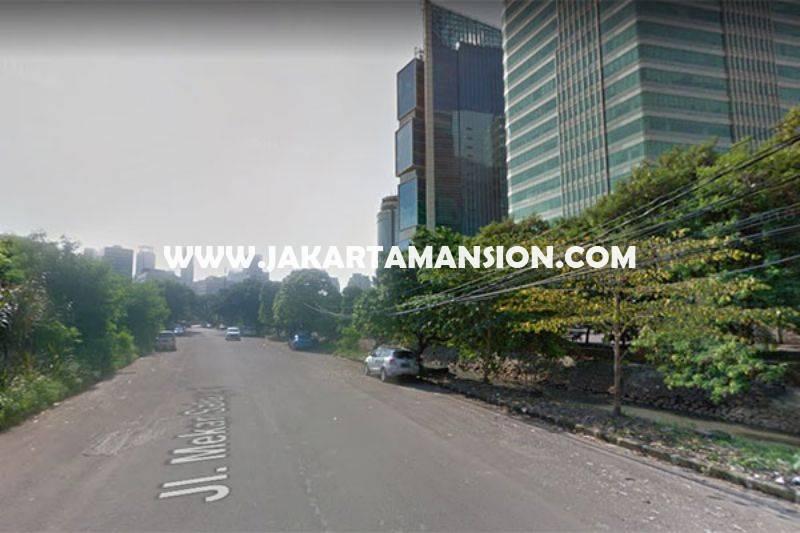 LS1123 Tanah Jalan Kuningan Madya HR Rasuna Said luas 3.100m Dijual Murah bisa 13 Lantai