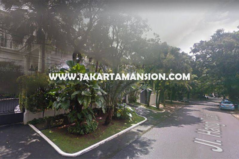 HS1139 Rumah Jalan Hangtuah Kebayoran Baru dekat Senayan Senopati Dijual