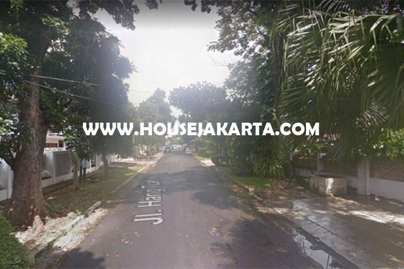 HS1140 Rumah Jalan Hangtuah Kebayoran Baru dekat Senayan Senopati Dijual