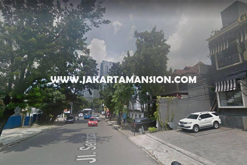 CS1161 Rumah toko Ruko Restoran Jalan Senopati Raya Kebayoran Baru dekat SCBD Sudirman Dijual Murah