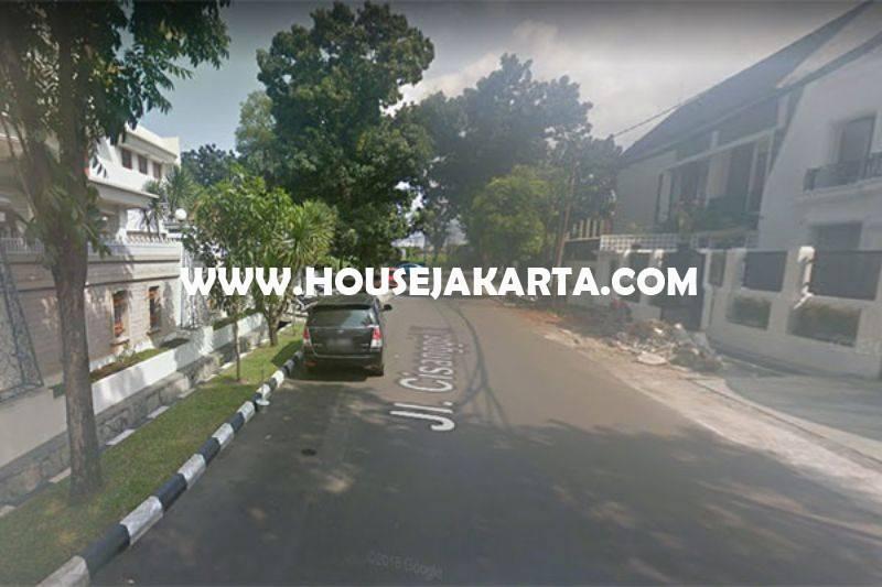 LS1166 Tanah Daerah Wijaya Kebayoran Baru dekat SCBD Sudirman Senopati Dijual Murah