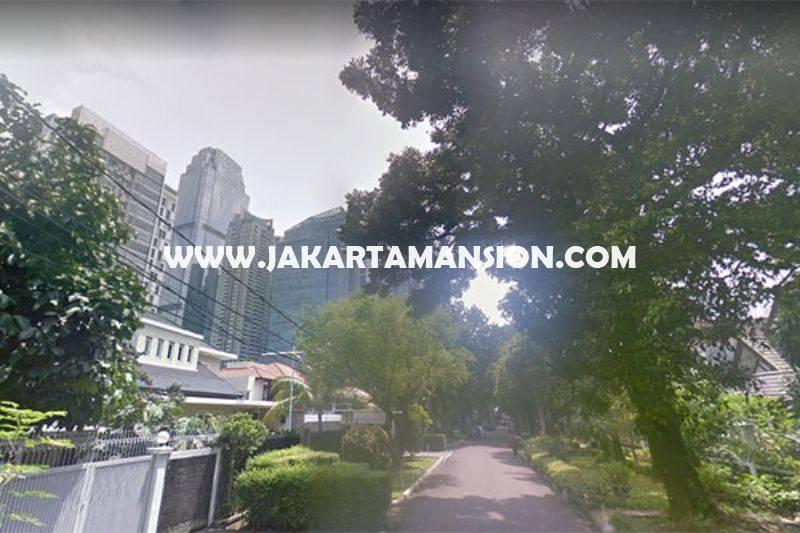 HS1167 Rumah Bagus Jalan Goa Senopati Kebayoran Baru dekat SCBD Sudirman Dijual Murah