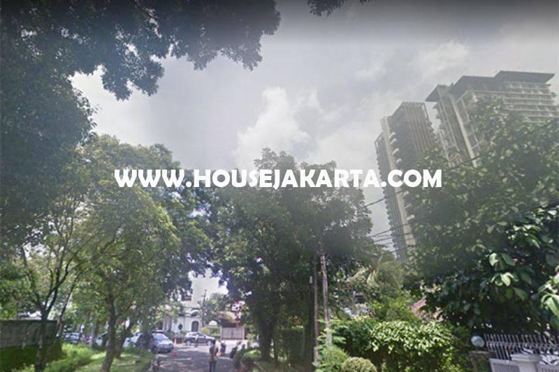HS1168 Rumah Bagus Jalan Goa Senopati Kebayoran Baru dekat SCBD Sudirman Dijual Murah