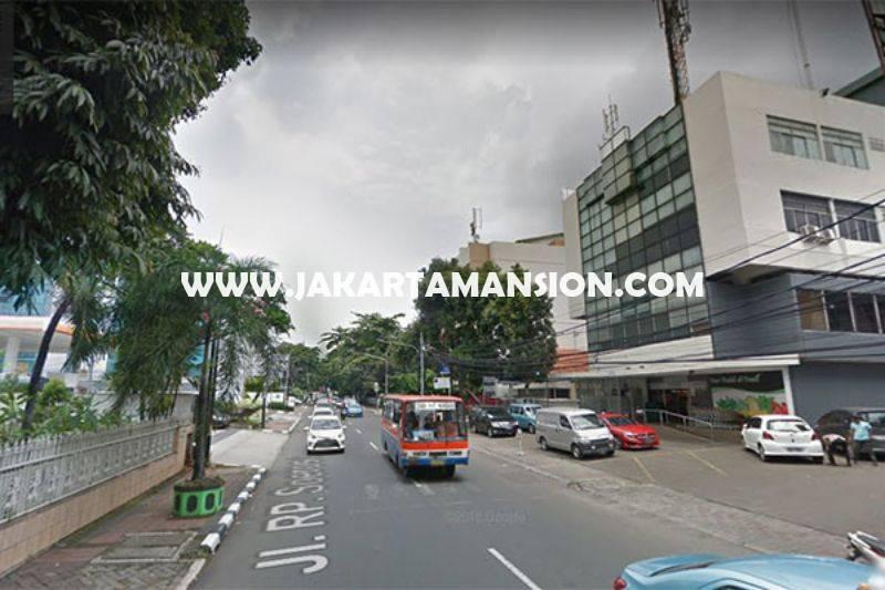 LS1169 Tanah Komersial Jalan RP Soeroso Menteng Dijual Murah bisa 8 Lantai Kantor Apartemen