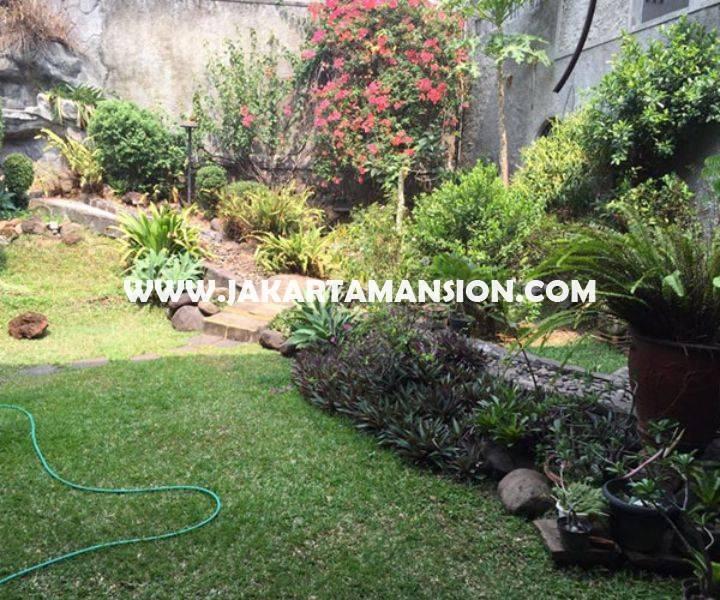 HS1192 Rumah Jalan Besuki Menteng Dijual Murah hitung Tanah Kotak daerah asri