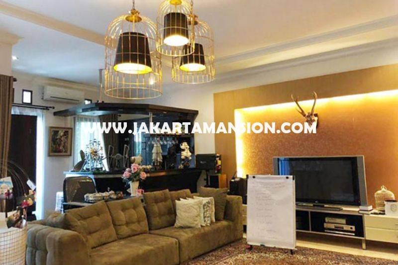 HS1224 Dijual Rumah Bagus jalan Jambu Menteng Jakarta Pusat Tanah Persegi Siap Pakai