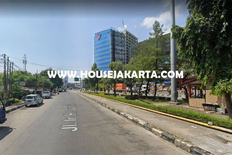 LS1230 Tanah Jalan Ir. H. Juanda Bekasi Dijual Murah 7,5 juta bisa dibangun 20 Lantai