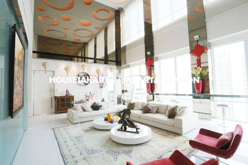 AR1233 Penthouse Apartement Pakubuwono Residence For Rent Sewa Lease