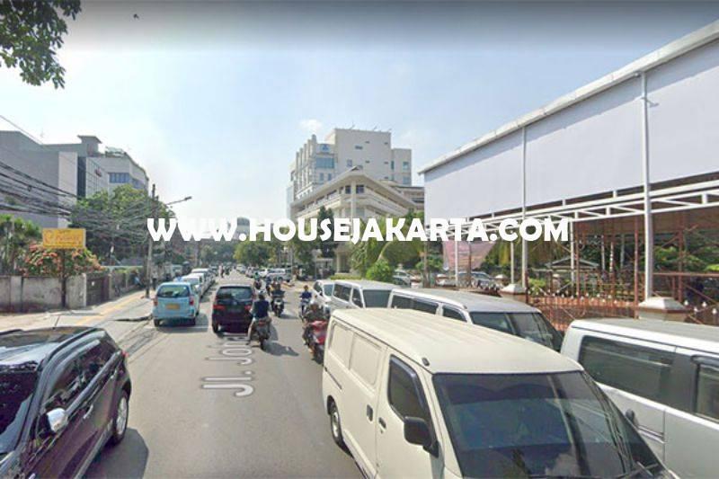 LS1241 Tanah Komersial jalan Johar menteng Dijual Murah 63 juta/m persegi dekat MH Thamrin