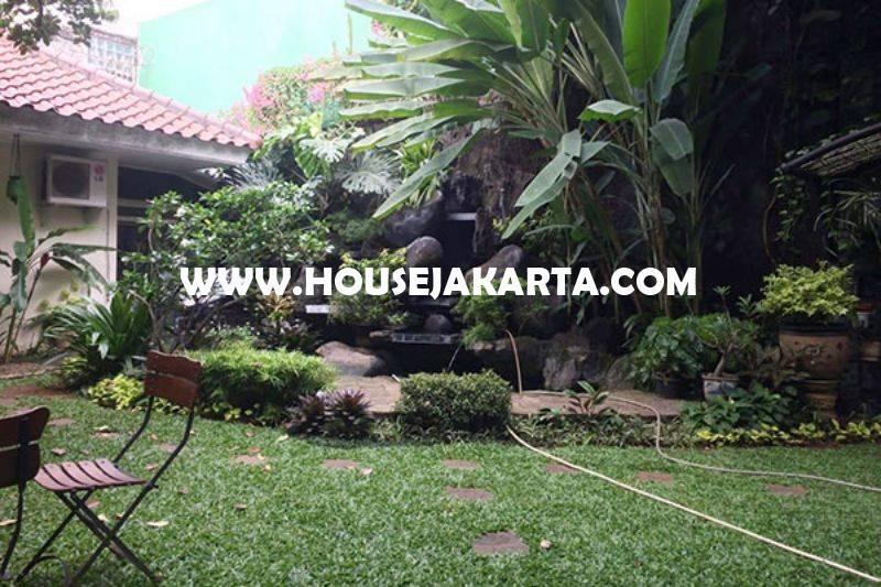 HS1278 Rumah Jalan Mataram Senopati Kebayoran Baru dekat SCBD Sudirman Dijual