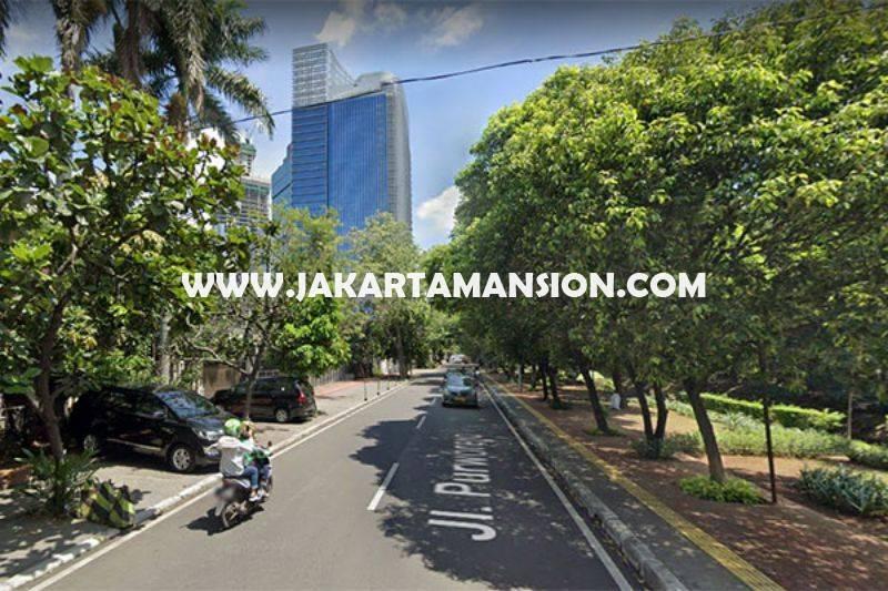 HS1304 Rumah Tua Jalan Purworejo Menteng Dijual Murah Hitung Tanah Golongan C Kotak dekat Jalan Thamrin