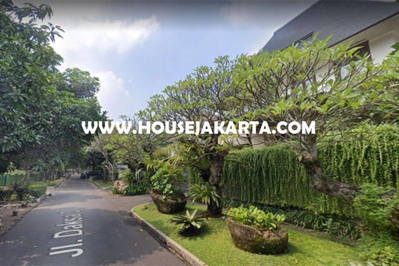 HS1326 Rumah Lama Jalan Daksa Senopati Kebayoran Baru dekat SCBD Sudirman Dijual Murah