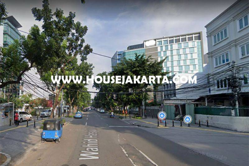 LS1336 Tanah Jalan Wahid Hasyim belakang Sarinah Thamrin Zona Ungu Komersial Bisa 8 lantai Dijual Murah