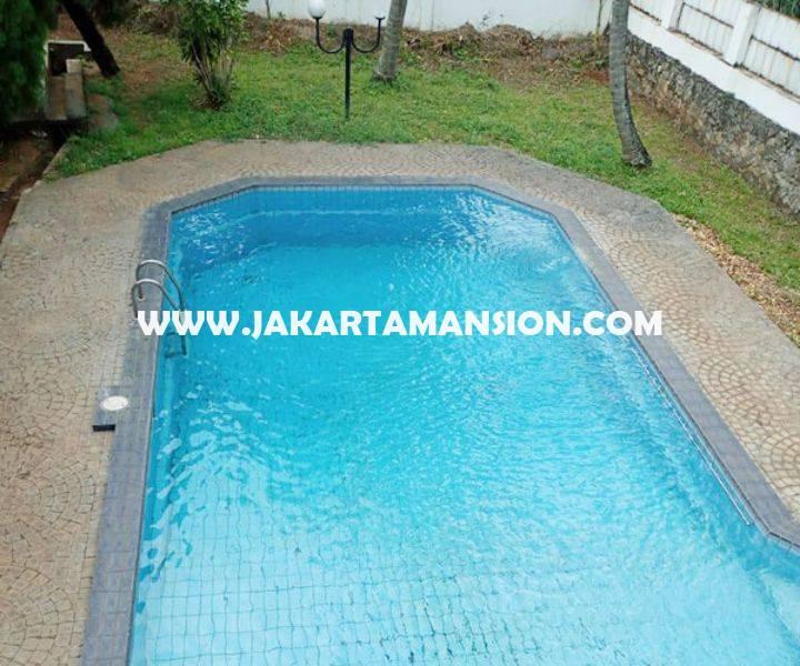 HS1347 Rumah ada Swimming Pool Jalan Kemang Timur Dijual Murah 15 juta/m Luas 2.000m