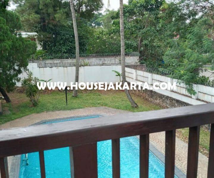 HS1348 Rumah ada Swimming Pool Jalan Kemang Timur Dijual Murah 15 juta/m Luas 2.000m