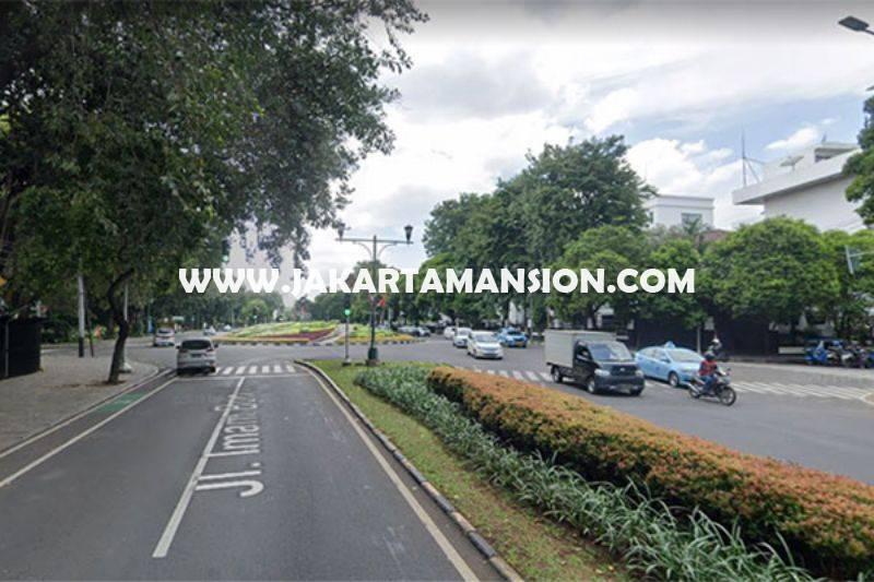 HS1367 Rumah 2 Lantai Jalan Imam Bonjol Menteng Dijual Murah Hitung Tanah Bentuk Persegi