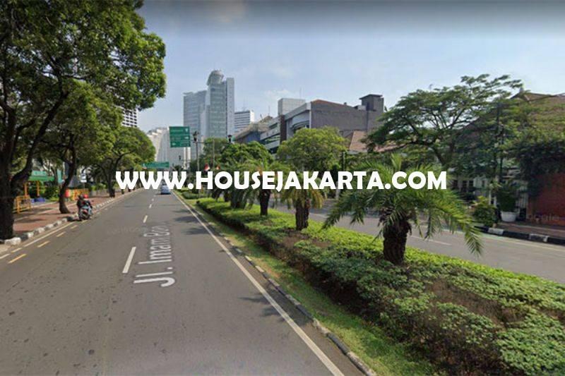 HS1368 Rumah 2 Lantai Jalan Imam Bonjol Menteng Dijual Murah Hitung Tanah Bentuk Persegi