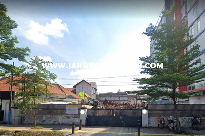 LS1397 Tanah Komersial Jalan Kramat Raya Jakarta Pusat ijin 8 Lantai Dijual Murah 40 juta/m