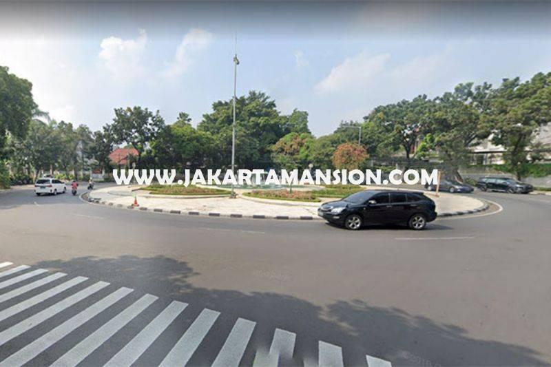 HS1401 Rumah Bagus 2 lantai Jalan Teuku Umar Menteng Tanah Persegi ada Pool Dijual Murah