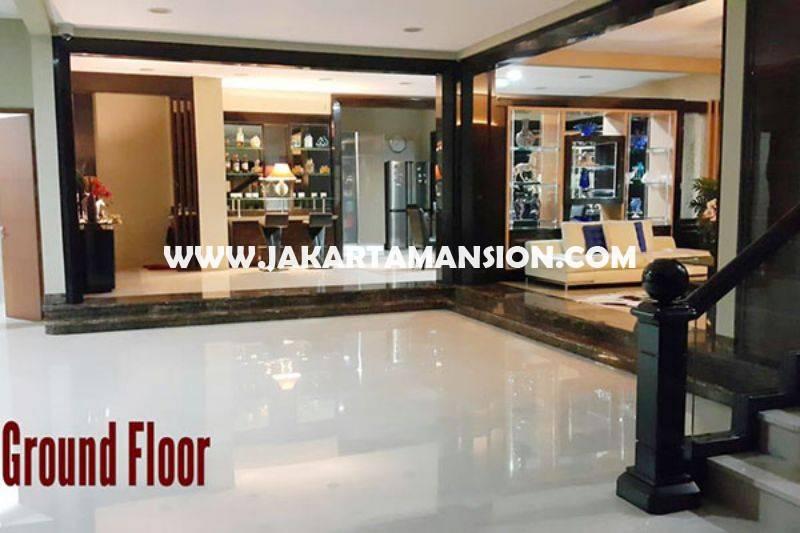 HS1411 Rumah Bagus 3,5 Lantai Jalan Tanjung Menteng ada rooftop city view Dijual Murah 55M