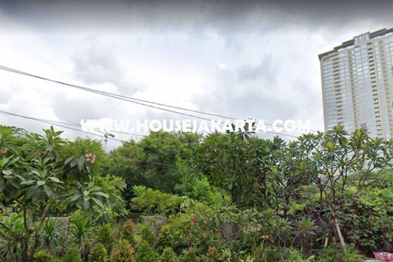 LS1424 Tanah Jalan raya Teuku Nyak Arif Simprug hoek Sinabung Dijual Murah bisa 4 Lantai