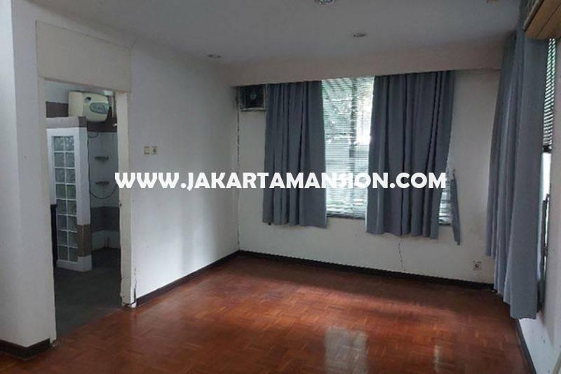 HS1431 Rumah Tua Hitung Tanah Jalan Madiun Menteng Bentuk Persegi Dijual 60juta/m Murah