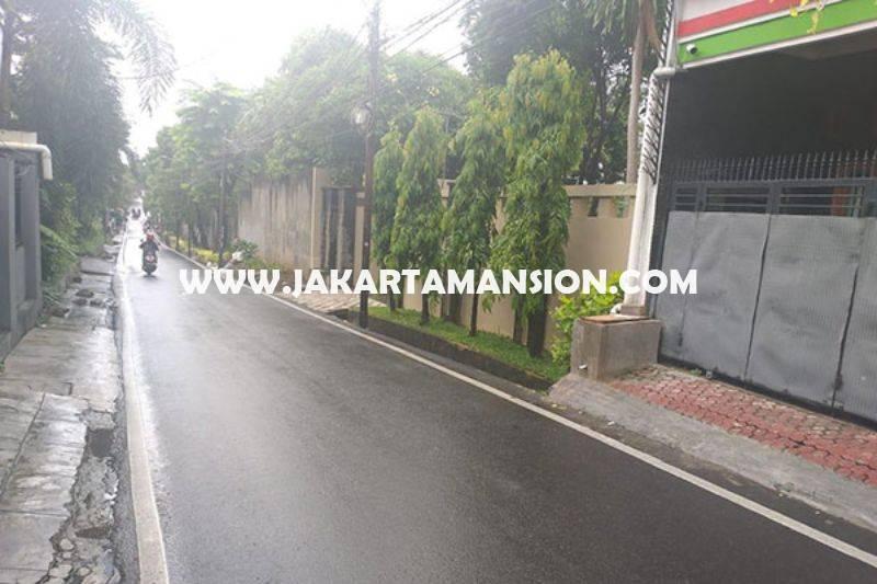 HS1433 Rumah 3 lantai Jalan Duren Tiga Selatan no 16a Pancoran Kalibata Dijual Murah 2,6M