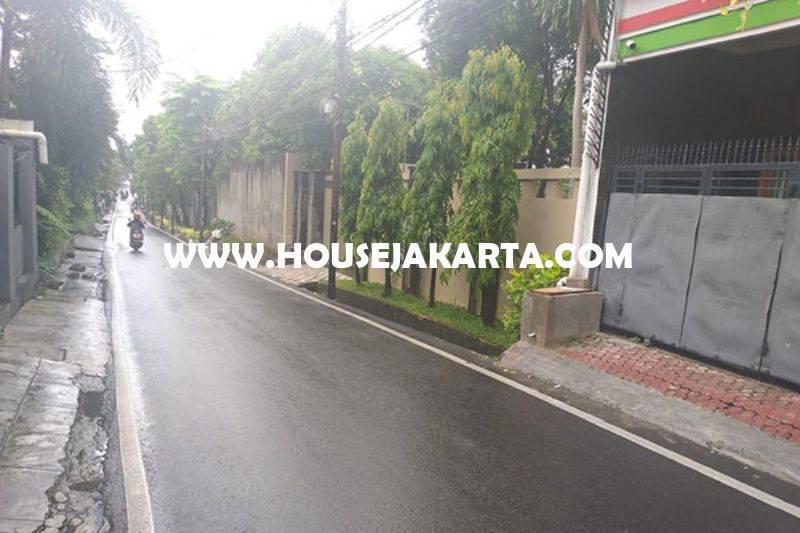 HS1434 Rumah 3 lantai Jalan Duren Tiga Selatan no 16a Pancoran Kalibata Dijual Murah 2,6M