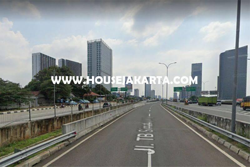 LS1436 Tanah Komersial Jalan TB Simatupang Bisa Gedung 16 Lantai Dijual Murah 27juta/m