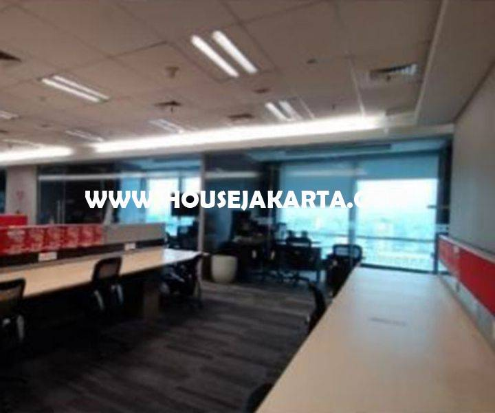 OS1440 Kantor Office One Pacific Place Ritz Carlton SCBD Sudirman Senopati Dijual Murah 1 lantai