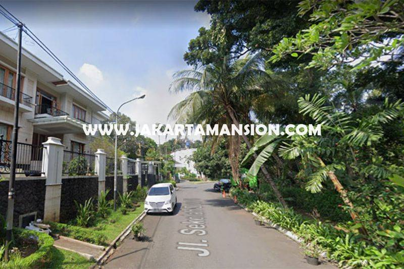 HS1451 Rumah Bagus 2 Lantai Jalan Sekolah Duta VI Pondok Indah Luas 512m Dijual Murah 25M