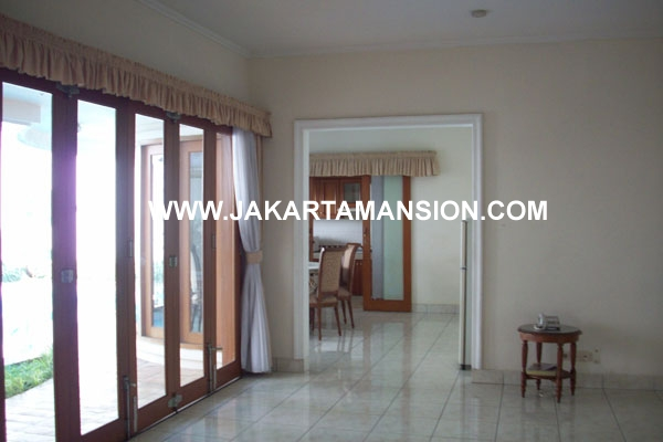 HR148 House at Dharmawangsa Brawijaya for Rent