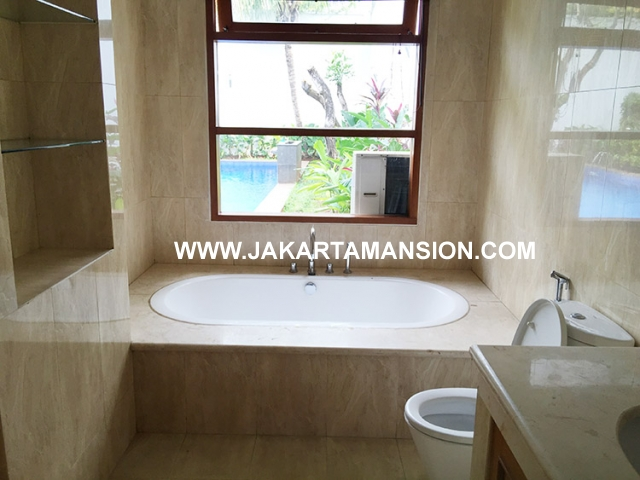 HR595 House for rent at Pejaten close to Kemang