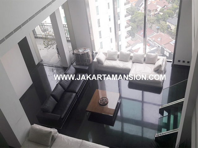 AS606 Apartement for sale Penthouse Pakubuwono Residence 2 lantai with swimming pool Dijual