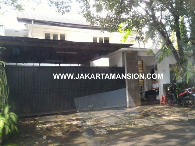HS642 Rumah Jalan Erlangga Senopati Kebayoran Baru Dijual Murah Jarang Ada