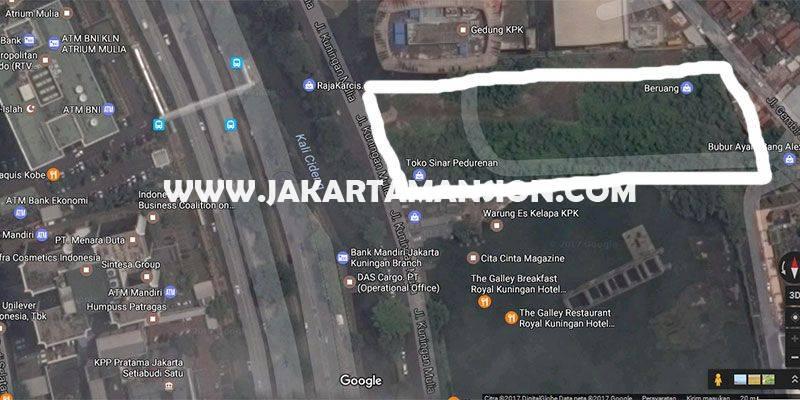 LS745 Tanah Jalan Rasuna Said Kuningan Sebelah Gedung KPK Dijual Murah bisa bangun 33 Lantai