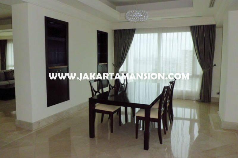 AS754 Apartement SCBD Suite Sudirman 3bedrooms luas 330m harga 18 Milyar Dijual