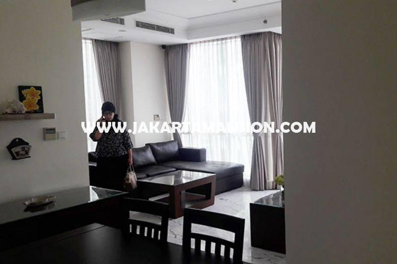 AS767 Apartement The Peak Residence Sudirman luas 119m Dijual Murah 5,3M