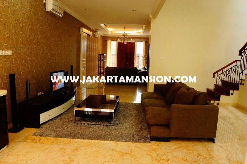 HR812 House for rent sewa lease at Cilandak (South Jakarta)