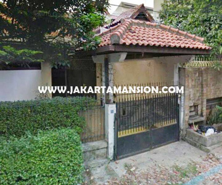 HS851 Rumah Tua Jalan Lembang Menteng Jakarta Pusat Dijual Murah hitung tanah 80 juta/m